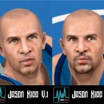 Jason Kidd Cyberface Patches for NBA 2K11
