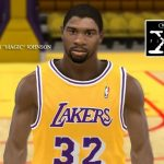 NBA 2K11 Michael Jordan and Magic Johnson jersey patches and face patches