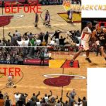 Miami Heat Court Patches for NBA 2K9 V2