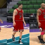 1998 Chicago Bulls Shoes Patches for NBA 2K11
