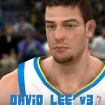 David Lee Cyberface Patches for NBA 2K11