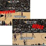 San Antonio Spurs Court Patches for NBA 2K9