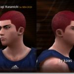 Hanamichi Sakuragi Patches for NBA 2K10