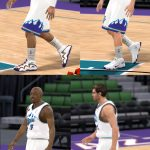 1998 Utah Jazz Shoes Patches for NBA 2K11