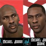 Michael Jordan Cyberface Patches for NBA 2K11