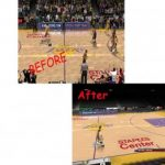 Los Angeles Lakers Court Patches for NBA 2K9