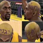 Ron Artest Cyberface Patches ( New Hair )