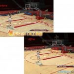 Houston Rockets Court Patches with Ad Banners for NBA 2K9 V1.2