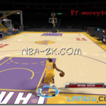 Los Angeles Lakers Court Patches V2 for NBA 2K9