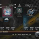 NBA 2K10 Screenshots (Team & Players' Ratings)