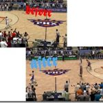Phoenix Suns Court Patches for NBA 2K9