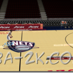 New Jersey Nets Court Patches by R.Allen#20-()