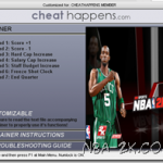 NBA 2K9 Cheats Trainer