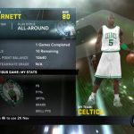 Kevin Garnett My Player Patches for NBA 2K11