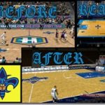 New Orleans Hornets Court Patches by SkyLine03LT