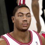 Derrick Rose + Real Eyes Patches for NBA 2K11