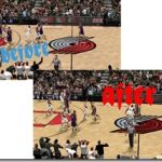 Portland Trail Blazers Court Patches for NBA 2K9