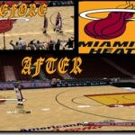 Miami Heat Court Patches by SkyLine03LT