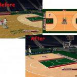 Milwaukee Bucks Court Patches for NBA 2K9