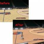 Charlotte Bobcats Court Patches for NBA 2K9 V2