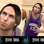 Steve Nash Cyberface Patches for NBA 2K11