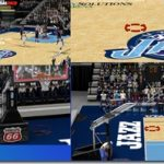 Utah Jazz Court Patches By universalmaster