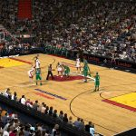 Miami Heat American Airlines Center Court Patches for NBA 2K11