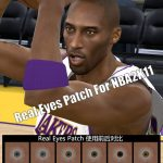 Real Eyes Patches for NBA 2K11