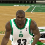 Kendrick Perkins Cyberface Patches for NBA 2K11