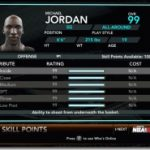Michael Jordan on My Player for NBA 2K10
