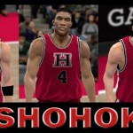 Team Shohoku Patches for NBA 2K10