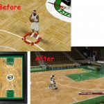 Boston Celtics Court Patches for NBA 2K9