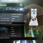 NBA 2K11 Orlando Magic Starting Lineup My Player Patches